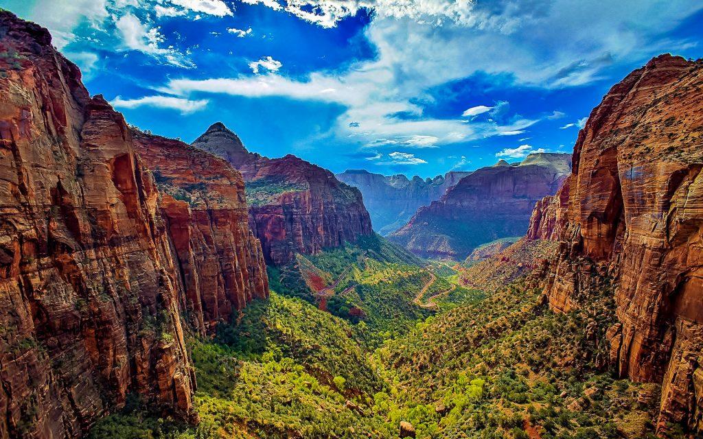 Utah's 5 parks active world journeys